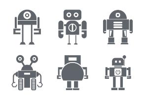 Cute Robot Character Part 9