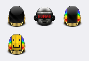 Daft punk helments