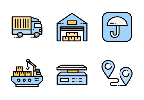 Delivery and Logistic - Detailed Rounded