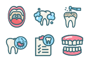 Dental Premium Color Symbol