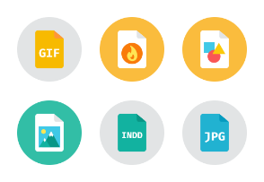 Design Files Icons - Rounded