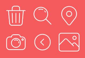 Desktop UI App Icons