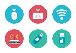 Devices Icons - Rounded