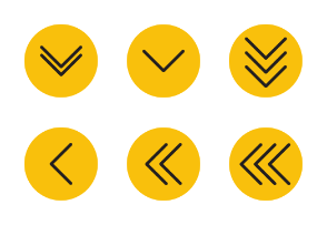 Different arrows with background