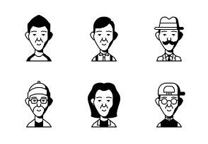 Dompicon Glyph People 1