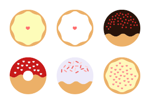 Donut Eat - Colored
