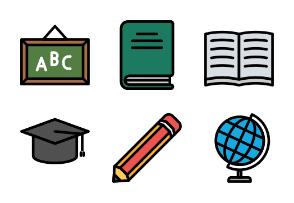 Education (Filled Line)