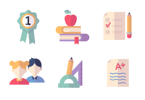 Education Icons - Set 2