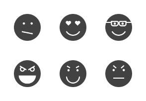 Emoticons Glyph