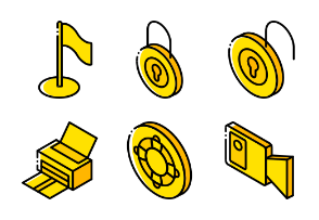 Essentials Isometric 2 - Yellow