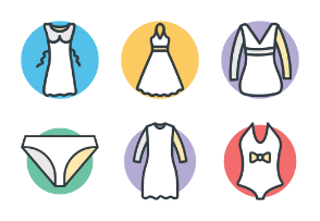 Fashion and Clothes Cool Vector 5
