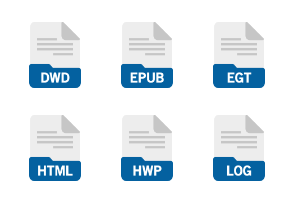 File Format: Documents Flat Filled