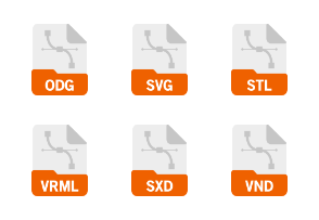 File Format: Vector Graphics Flat Filled