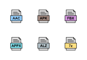 File Formats Line Filled