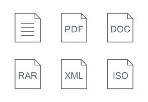 Documents File Format file type extension collection 1