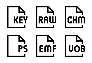 File types set one