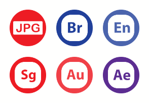 File Types , File Format - Extension Icons Vol 1