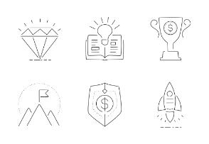 Financial Symbols 1