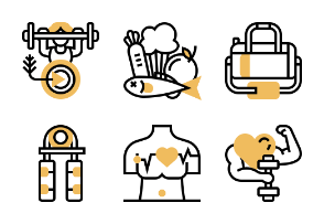 Fitness-Colored
