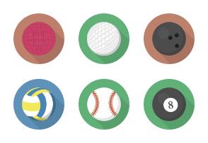 Flatty Balls