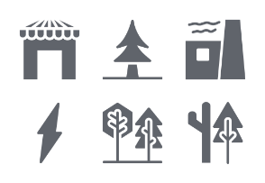 Flowers and Plants Glyphs vol 2