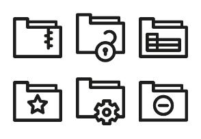 Folder types
