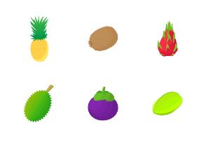 Fruit - Cartoon 2