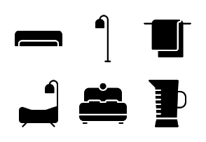 Furniture and Household (glyph/solid)
