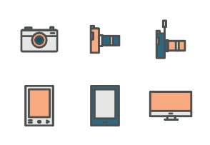 gadgets and devices Color