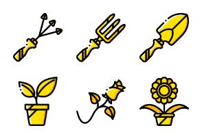 Gardening - Yellow