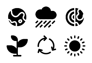 Go Green and Global Warming (Glyph)