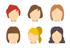 Hairstyles - Flat