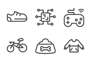 Shopping categories element