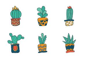 Hand Draw Cactus