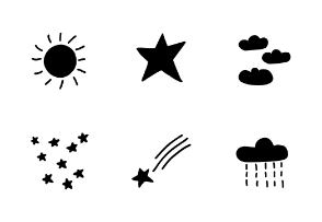 Hand drawn Weather Collection