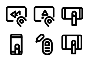 Hand Gesture MD - Outline - Vol 2