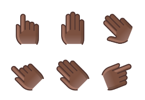 Hands & gestures (black man)