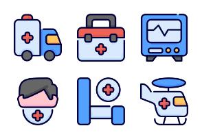 Bufilot : Healthcare and medical vol1 - filled outline