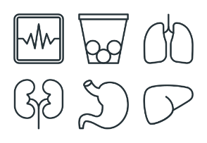 Healthcare - Stroke Icons