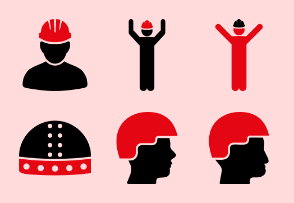 Helmets Red