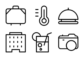 Holiday Line Icons 1