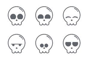 Holloween Edition - Skulls 2