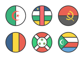 International Circle Flags
