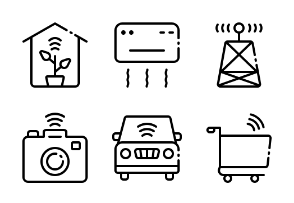 Internet of Things LineArt