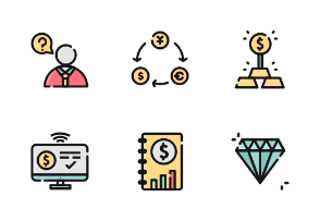 Investing Color Iconset