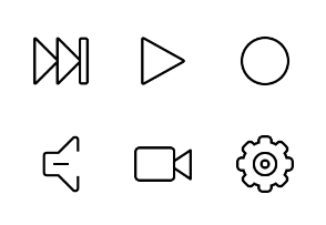 iOS and Android Solid Icons Vol 4