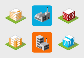 Isometric buildings and homes