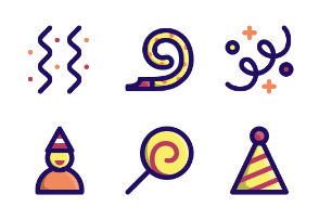 Birthday - Jumpicon (Filled Line)
