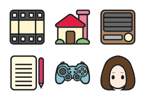 Kawaii Desktop Icons