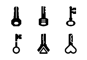 Key collection (glyph)